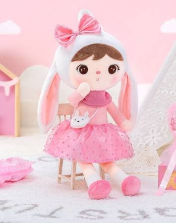 Metoo Bunny Doll with Bow
