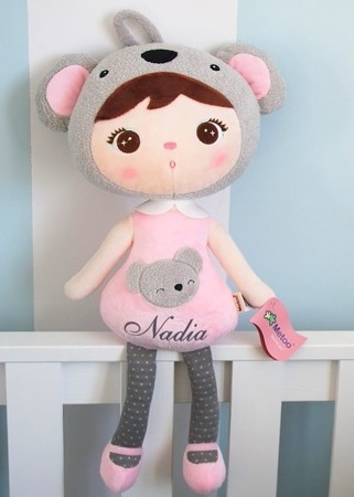 Metoo Personalized Koala Girl Doll