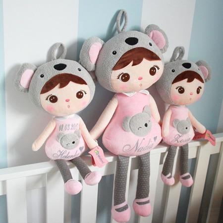 Metoo Personalized Koala Girl XL Doll
