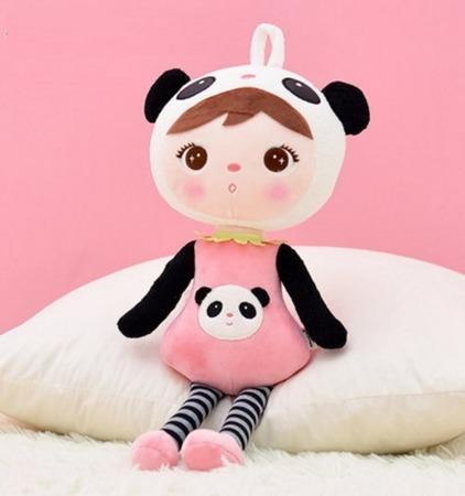 Metoo Personalized Panda Girl XL Doll 70 cm