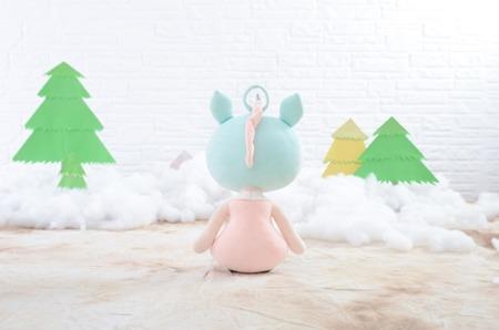 Metoo Personalized Unicorn Girl Doll