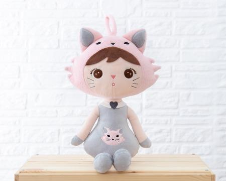 Metoo Personalizowana Cat Girl Doll