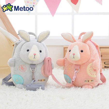 Metoo Pink Backpack Friends