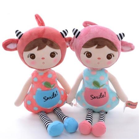 Metoo Red Sheep Girl Doll