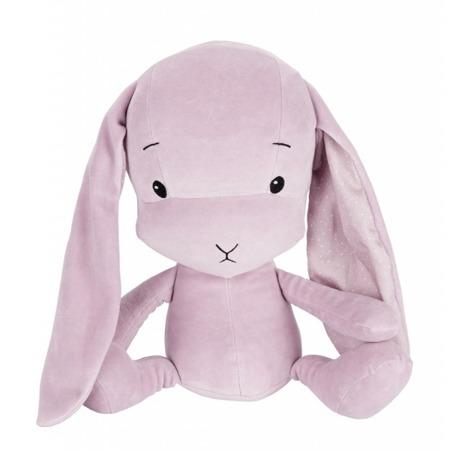 Personalized Bunny Effik M - Dusty Pink + dots by Małgosia Socha 35 cm