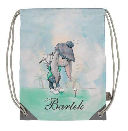 Personalized Effiki Sack - the Golfer