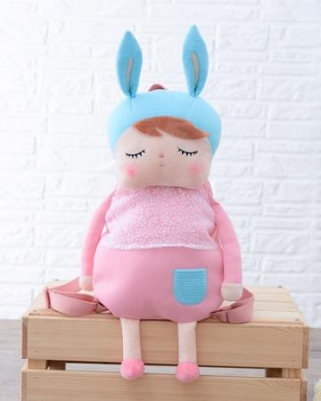 Pink Metoo Angela Personalized Backpack