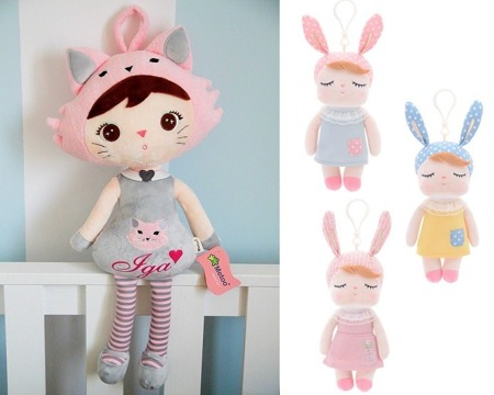 Set of Dolls - Personalized Cat and Mini Angela