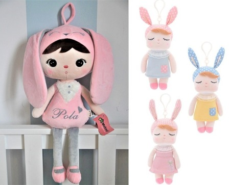 Set of Dolls - Personalized Rabbit and Mini Angela