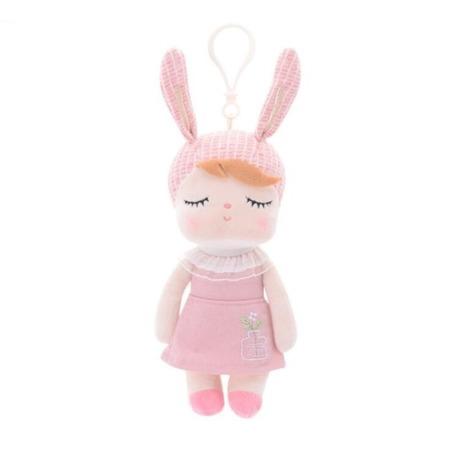 Lalka Metoo Personalizowana Mini Uszatka w Różowej Sukience
