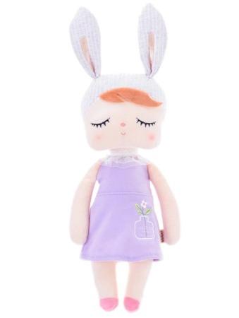 Lalka Metoo Uszatka w Fioletowej Sukience